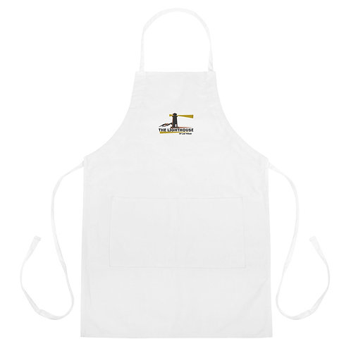 The LightHouse Embroidered Apron