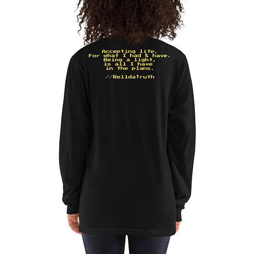Be A Light   RelldaTruth Long sleeve t-shirt