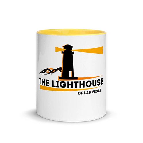 The LightHouse Mug with Color Inside
