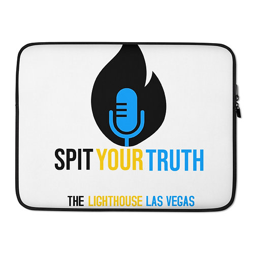 Spit Your Truth: The LightHouse Laptop Sleeve
