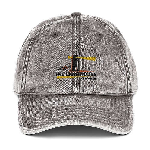 The LightHouse Vintage Cotton Twill Cap