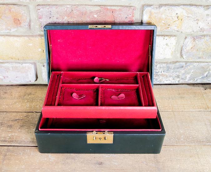 Asprey London Leather Jewellery Box SOLD