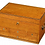 Thumbnail: A late George III satinwood toilet box by Bayley & Blew SOLD