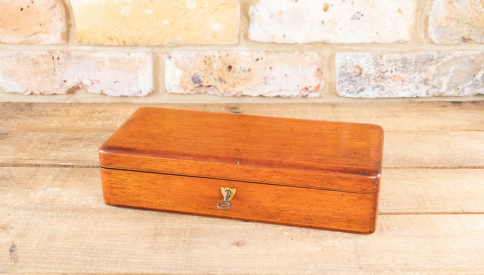 Mahogany Desk box 1840 SOLD