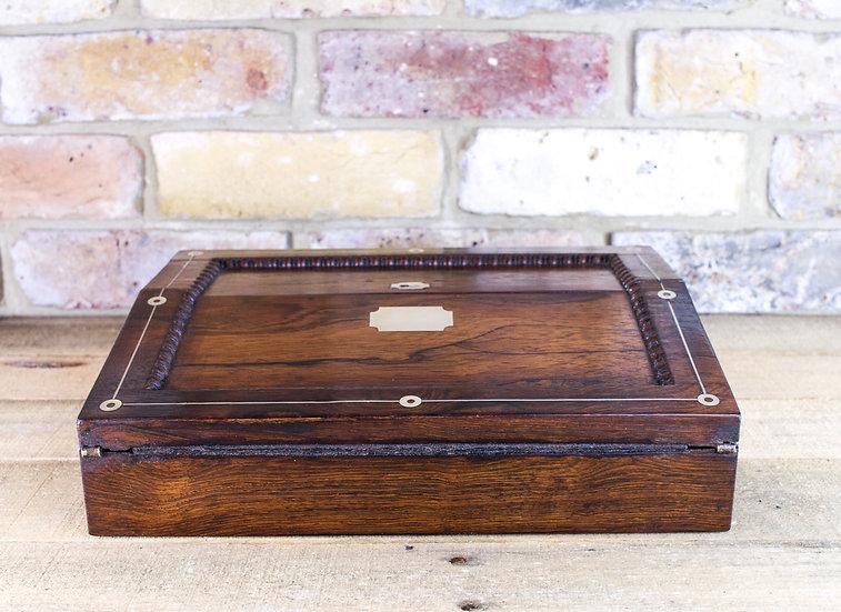 Rosewood Lap desk c.1830 SOLD