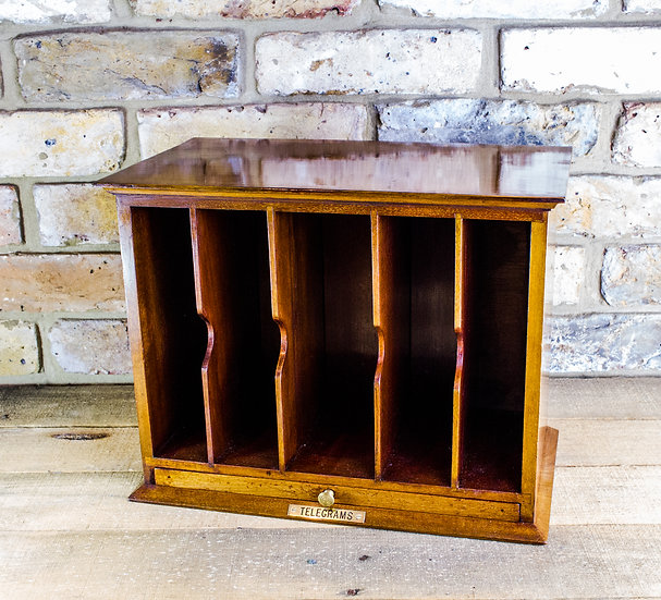 Asprey London & Co Desk Stationery Cabinet c.1920 SOLD