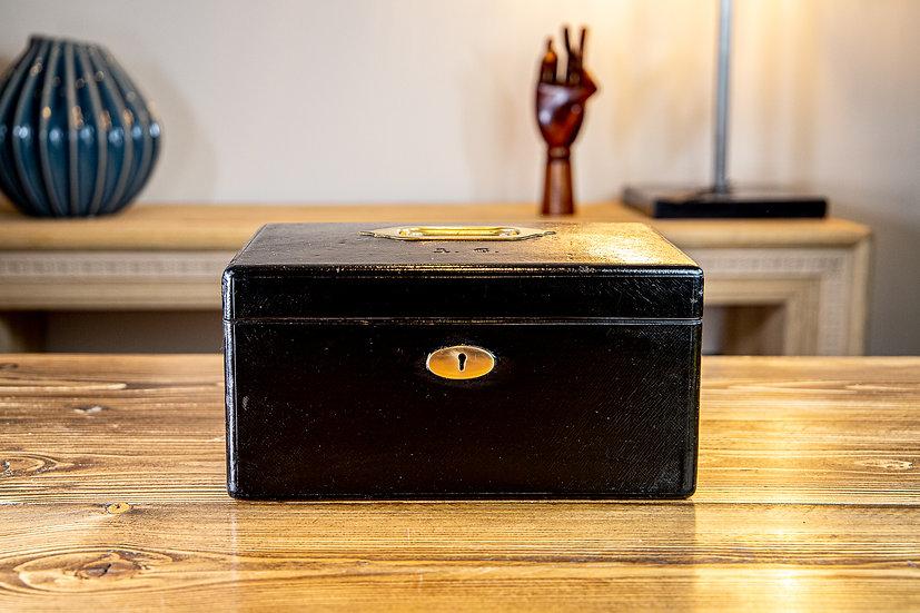 Asprey London Leather Jewellery Box 1900