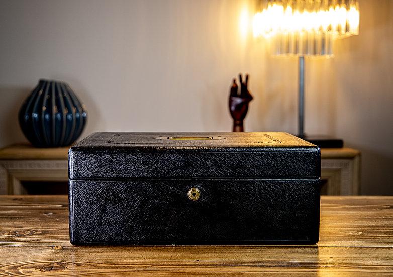 Leather Desk Box c.1890 SOLD