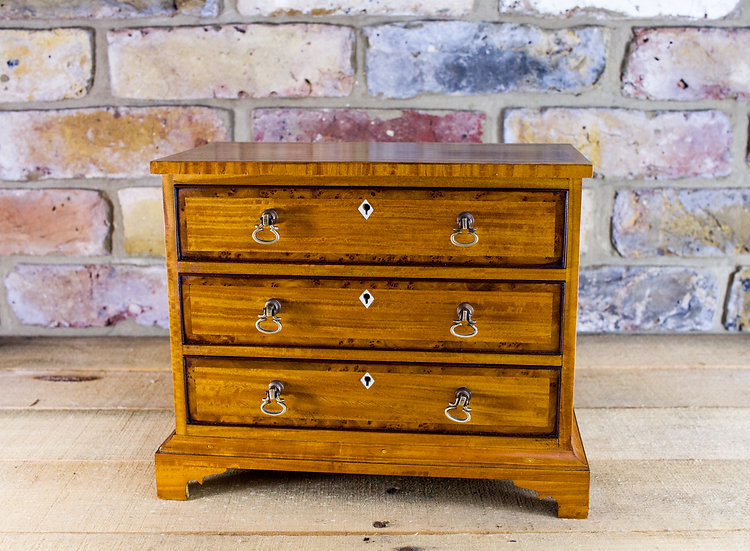 Satinwood Chest of Drawers c.1900 SOLD