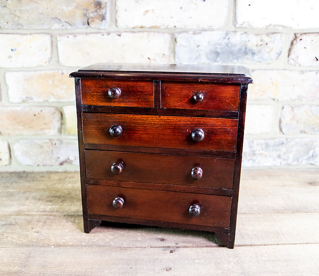 Miniature Chest of Drawers c.1890 SOLD