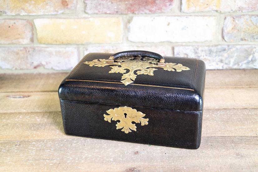 Super Quality Jewellery Box c.1870 SOLD