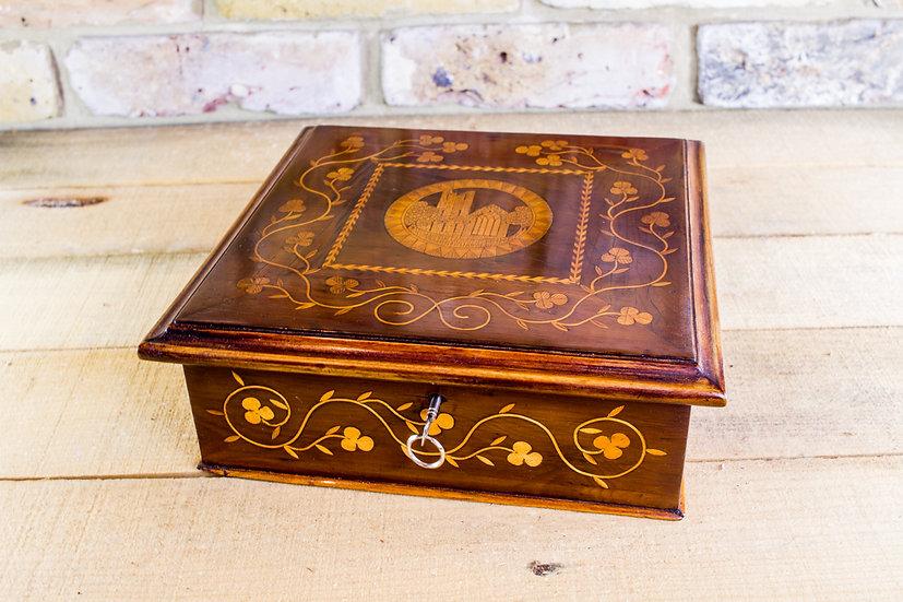 Irish Killarney Table box c.1870 SOLD