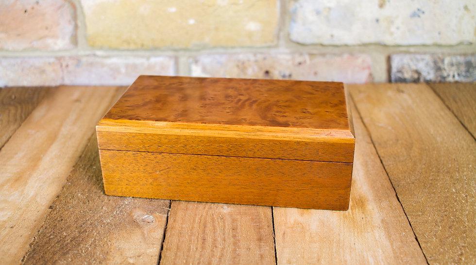 Mahogany and Cedar Trinket Box c.1920