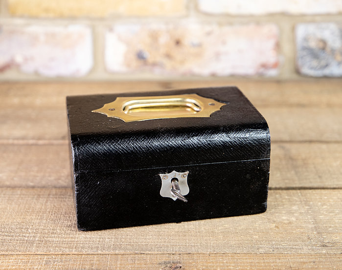 Leather Jewellery Box SOLD