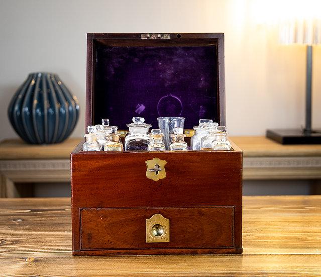 Georgian Mahogany Apothecary Box 1800