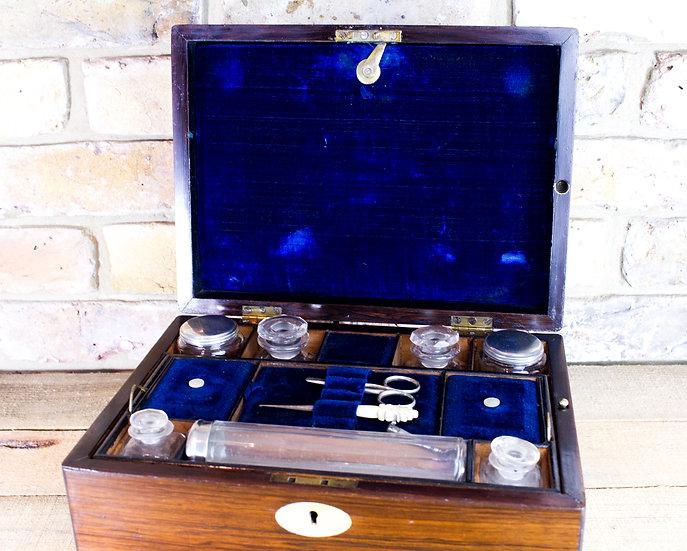 Rosewood Vanity Box c.1840