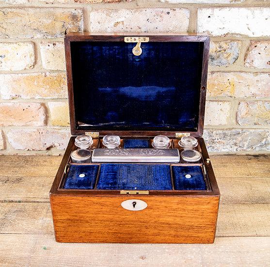 Rosewood Vanity Box c.1870 SOLD