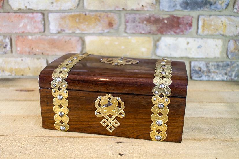 Rosewood Ladies box c.1860 SOLD