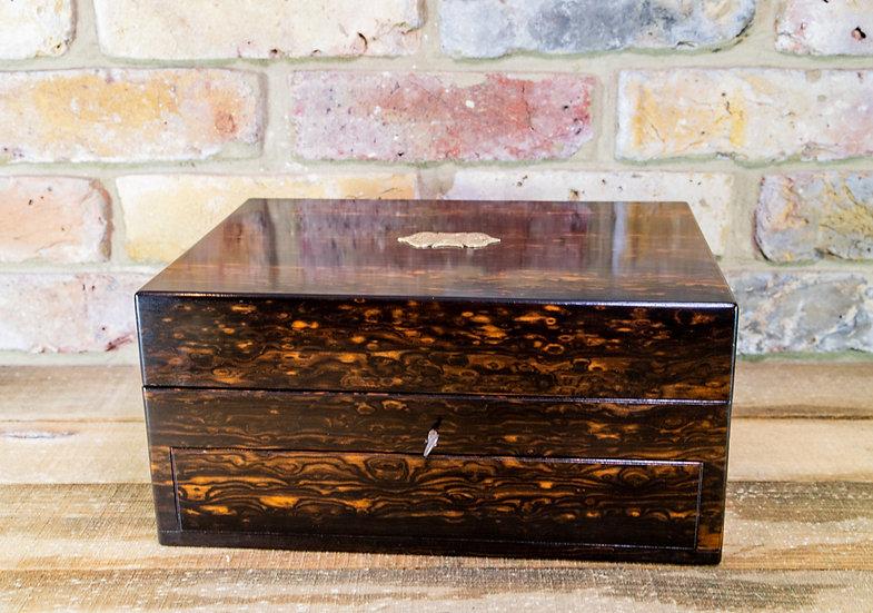 Stunning Coromandel Jewellery Box c.1850 SOLD