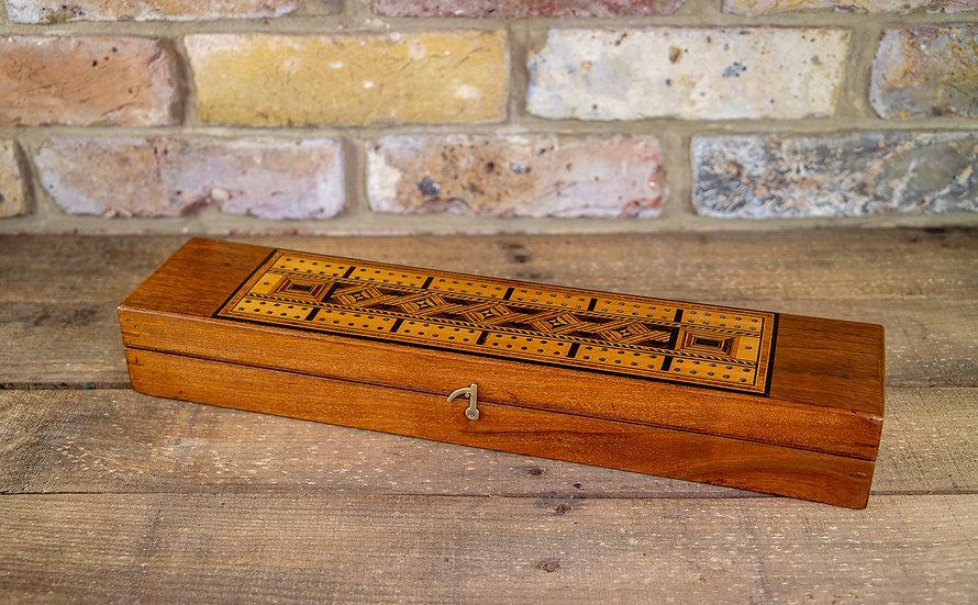 Long Rectangular Cribb Box 1880 SOLD