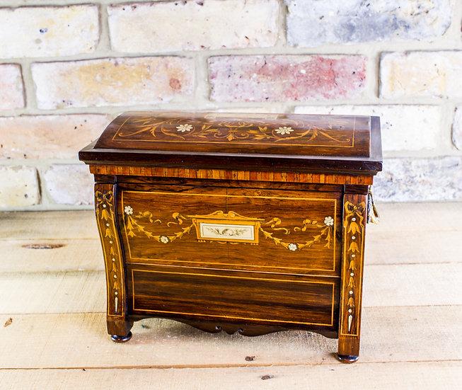 William iv Desk box c.1830 SOLD