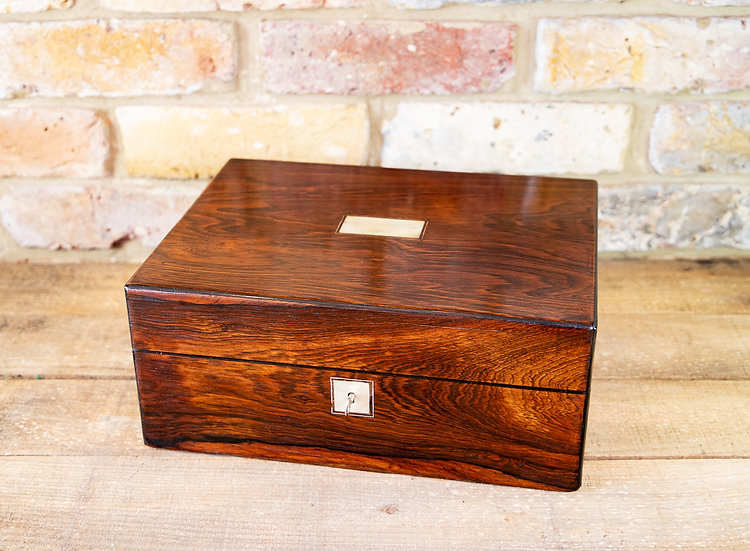 Rosewood Victorian Table Box c1850 SOLD