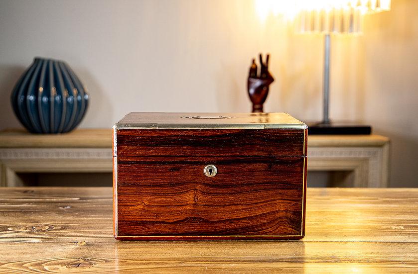 William IV Rosewood Vanity Box SOLD