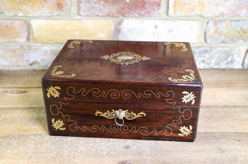 Rosewood Table Box c.1840 SOLD
