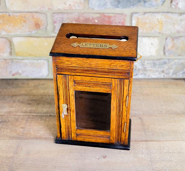 Letter Oak Cabinet c.1910 SOLD