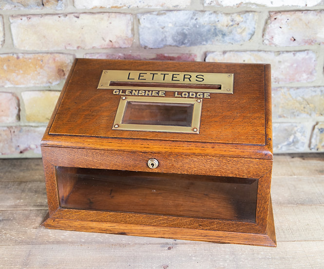 Asprey London Letter Box c.1890 SOLD