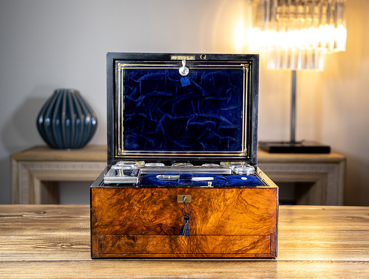 Fisher - The Strand London Vanity Box 1850 SOLD