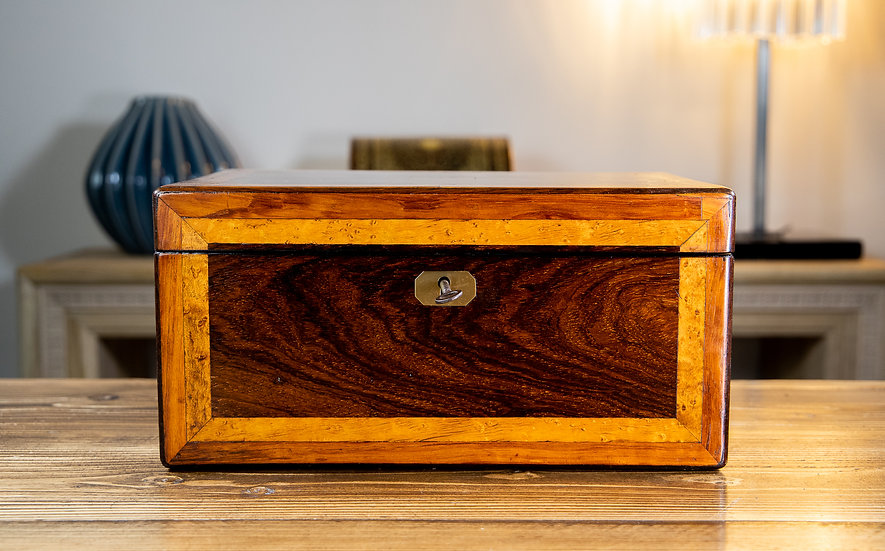 Victorian Table Box c.1840 SOLD