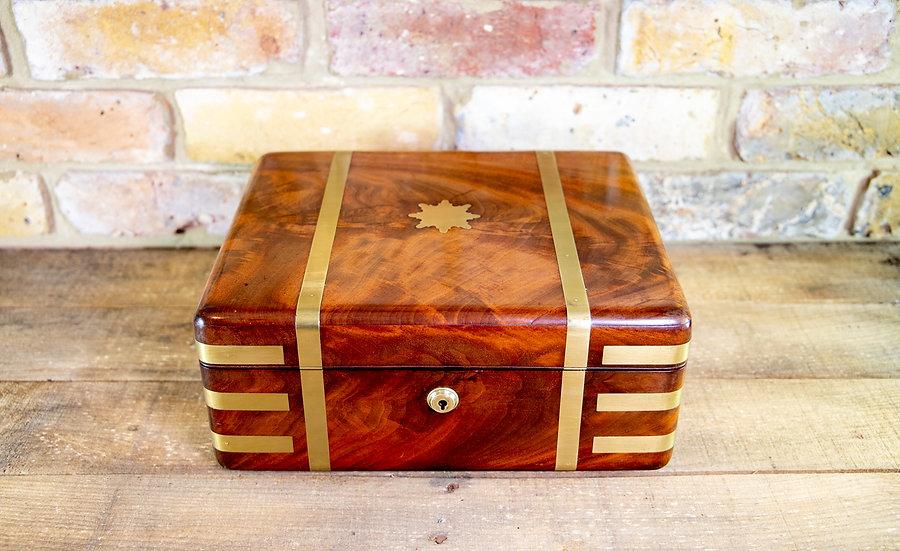 Campaign Mahogany Gent's Box c.1820 SOLD