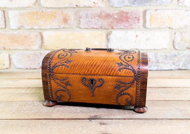 Satinwood Ladies Box c.1880 SOLD