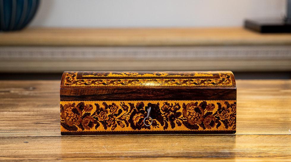 Rare Emund NYE Tunbridge Ware Box 1870 SOLD