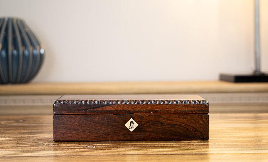 William IV Rosewood Desk Box 1830 SOLD