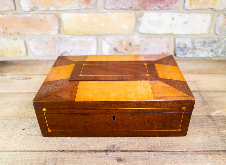 Inlaid Table Box c.1840 SOLD