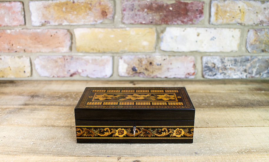 Collectable T.Barton Tunbridge Ware Games Box SOLD