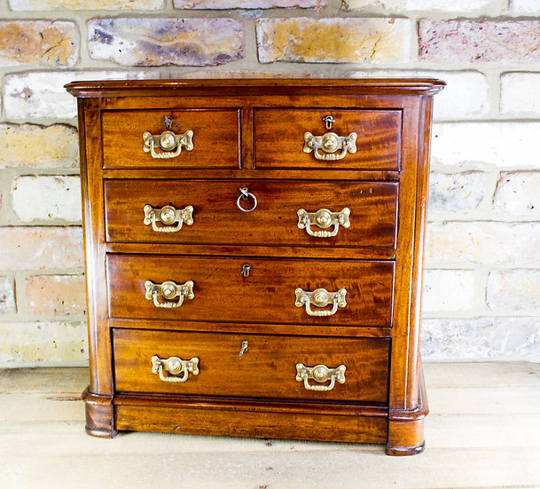 Mahogany Chest of Drawers c.1890 SOLD