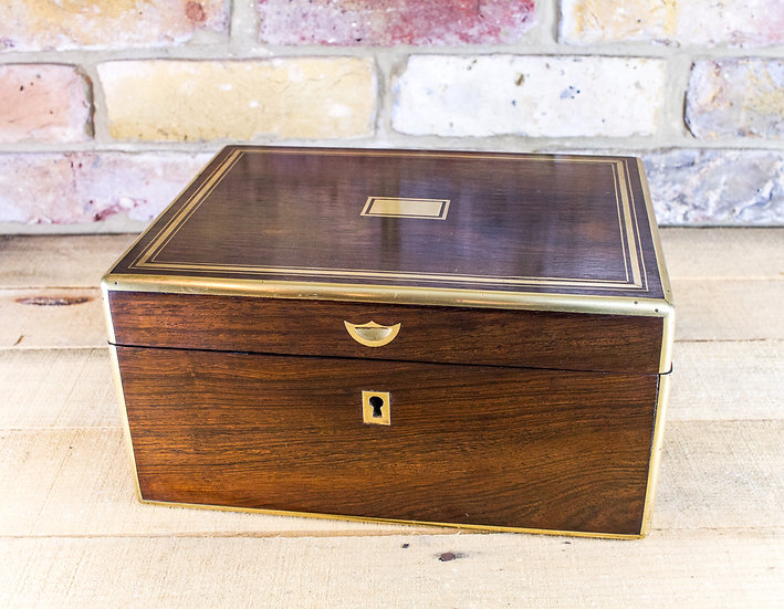 Rosewood Table box c.1850 SOLD