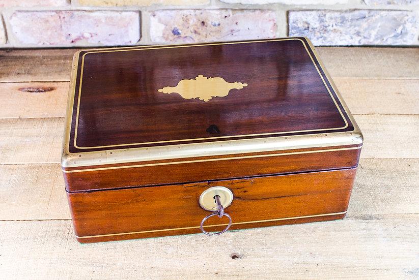 Mahogany Campaign Box c.1800 SOLD