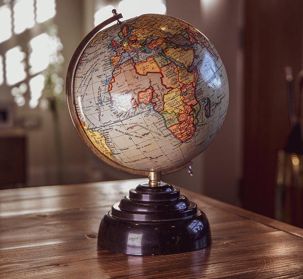 Geographia 8 Inch Globe Fleet St London SOLD
