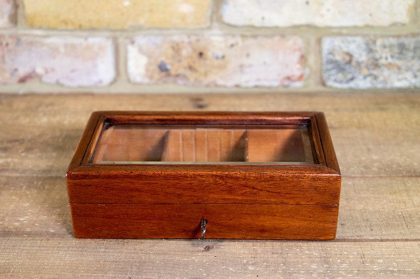 Mahogany Cigar Box 1900 SOLD