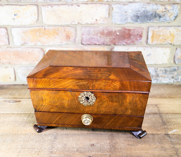 Large Mahogany Table Box c.1820 SOLD