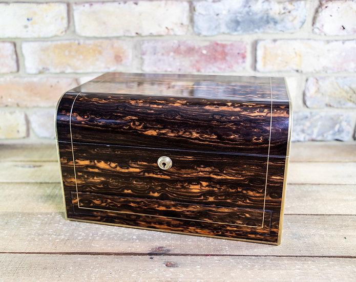 Stunning Coromandel Vanity/Jewellery Box c.1850 SOLD