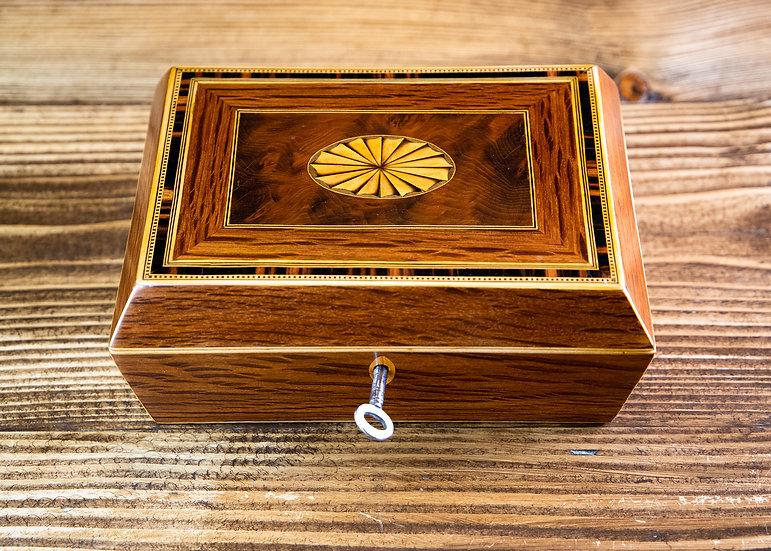 Stunning Georgian Jewellery Box 1820