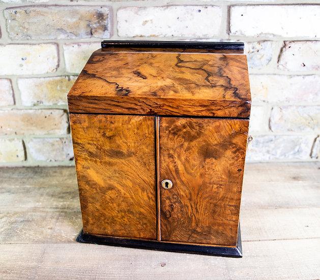 Burr Walnut Cabinet c.1860 SOLD