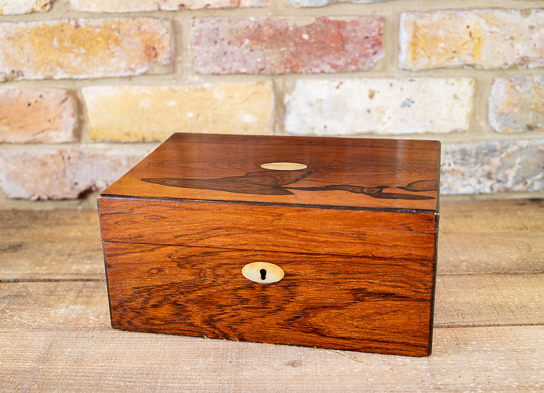 Rosewood Table Box 1850 SOLD