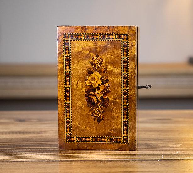 Maple Tunbridge Ware Table Box 1890