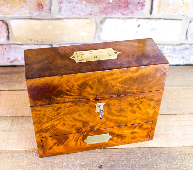 Campaign Mahogany Desk Box c.1810  SOLD